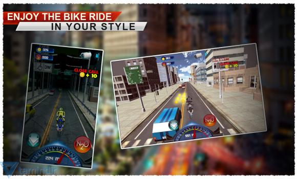 Traffic Racer Motorbike 3D Ekran Görüntüleri - 3