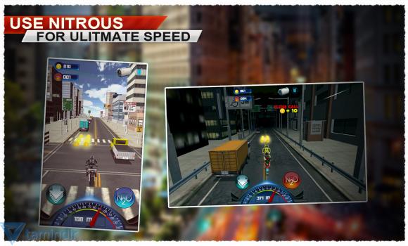 Traffic Racer Motorbike 3D Ekran Görüntüleri - 2