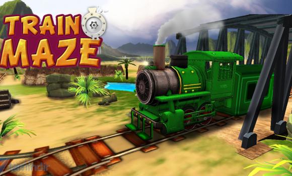 Train Maze 3D Ekran Görüntüleri - 1