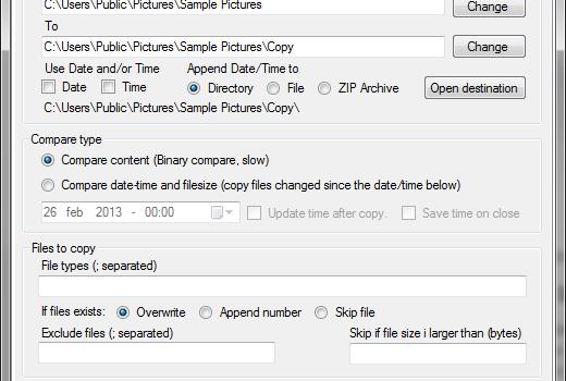 TSR Copy Changed Files Ekran Görüntüleri - 1