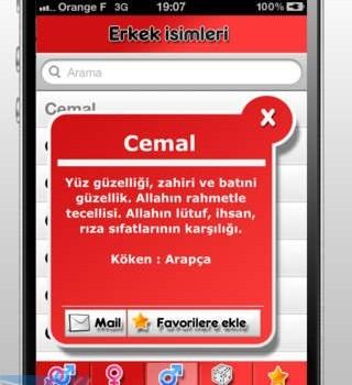 Türkçe isimler Ekran Görüntüleri - 1