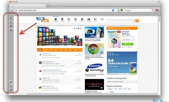 Vertical Toolbar Ekran Görüntüleri - 1
