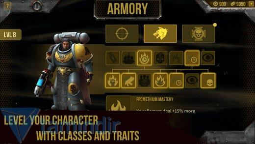 Warhammer 40,000: Space Wolf Ekran Görüntüleri - 1