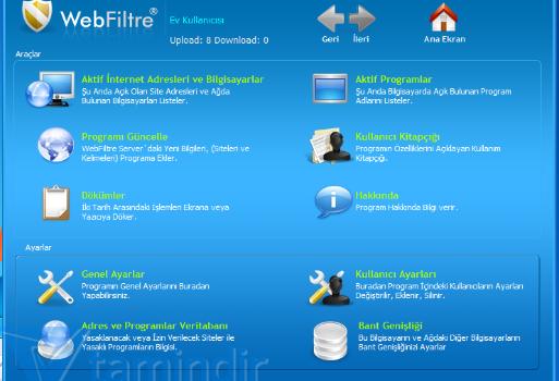 Web Filtre Ekran Görüntüleri - 1