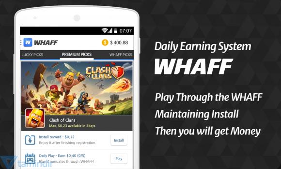 WHAFF Rewards Ekran Görüntüleri - 4