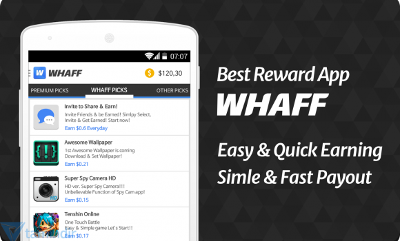 WHAFF Rewards Ekran Görüntüleri - 3