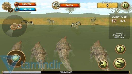 Wild Crocodile Simulator 3D Ekran Görüntüleri - 2