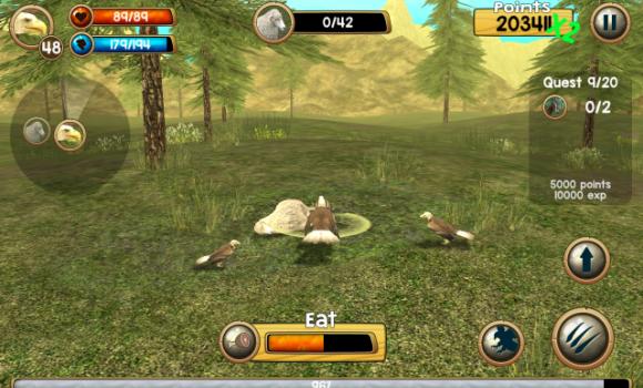 Wild Eagle Sim 3D Ekran Görüntüleri - 1