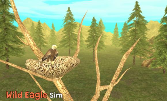 Wild Eagle Sim 3D Ekran Görüntüleri - 3