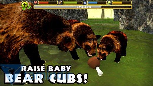 Wildlife Simulator: Bear Ekran Görüntüleri - 2