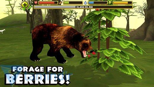Wildlife Simulator: Bear Ekran Görüntüleri - 1