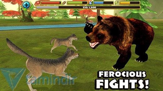 Wildlife Simulator: Wolf Ekran Görüntüleri - 3