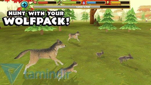 Wildlife Simulator: Wolf Ekran Görüntüleri - 2