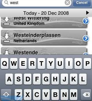 WindGuru Ekran Görüntüleri - 1