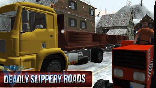 Winter Hill Climb Truck Racing Ekran Görüntüleri - 3
