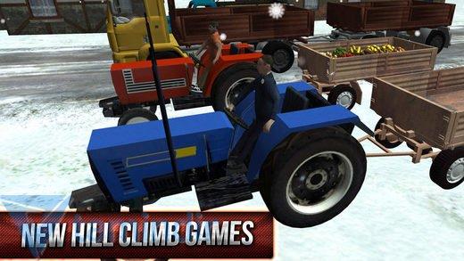 Winter Hill Climb Truck Racing Ekran Görüntüleri - 2