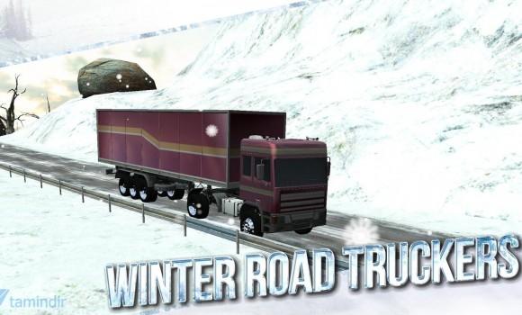 Winter Road Trucker 3D Ekran Görüntüleri - 3