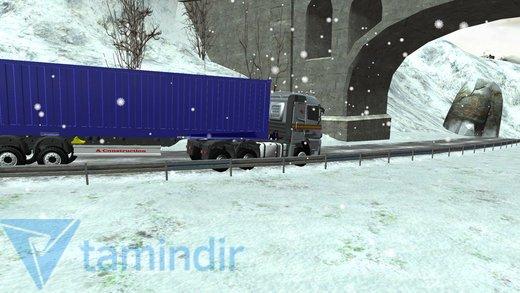 Winter Road Trucker 3D Ekran Görüntüleri - 2