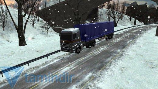 Winter Road Trucker 3D Ekran Görüntüleri - 1