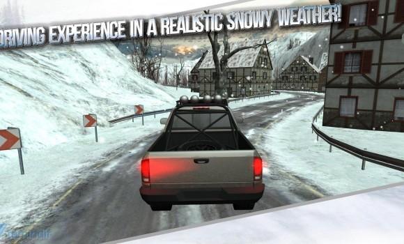 Winter Traffic Car Driving 3D Ekran Görüntüleri - 4