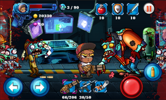 Zombie defense: Death Invaders Ekran Görüntüleri - 2