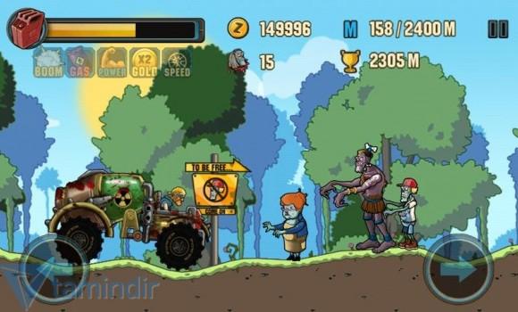 Zombie Road Racing Ekran Görüntüleri - 4