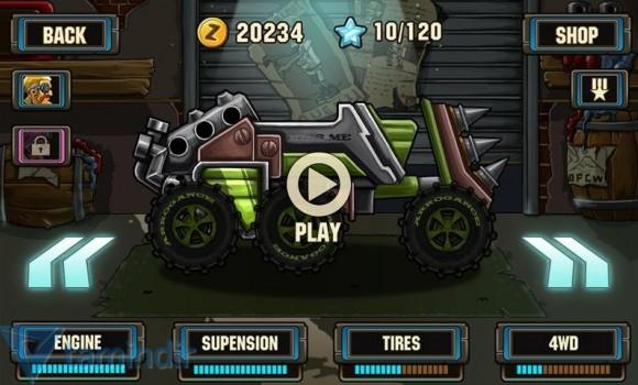Zombie Road Racing Ekran Görüntüleri - 2