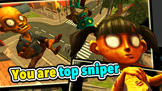 Zombie Town Sniper Shooting Ekran Görüntüleri - 4