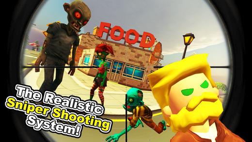 Zombie Town Sniper Shooting Ekran Görüntüleri - 2