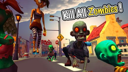 Zombie Town Sniper Shooting Ekran Görüntüleri - 1