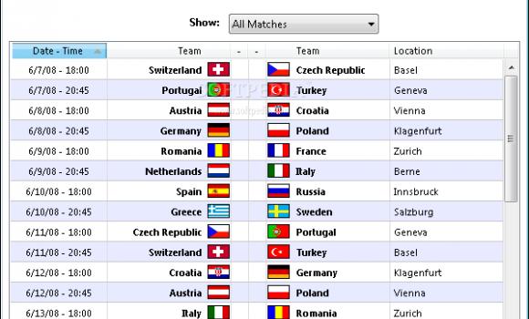 UEFA EURO 2008 Demo Ekran Görüntüleri - 1