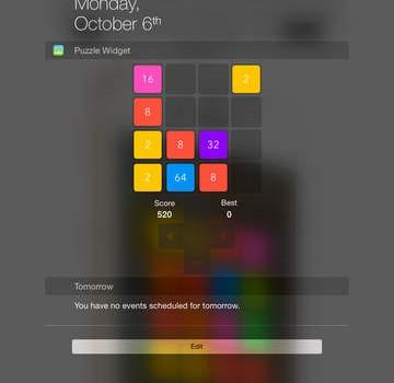 2048 Widget Ekran Görüntüleri - 2