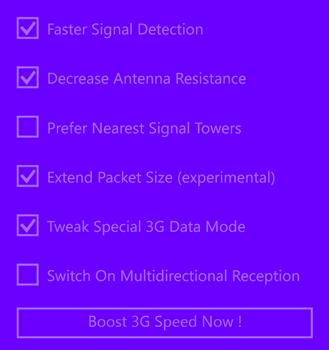 3G Internet Booster Ekran Görüntüleri - 2