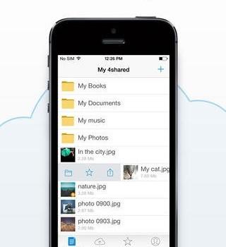 4shared Mobile Ekran Görüntüleri - 2