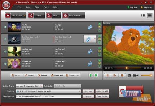 4Videosoft Video to MP3 Converter Ekran Görüntüleri - 2