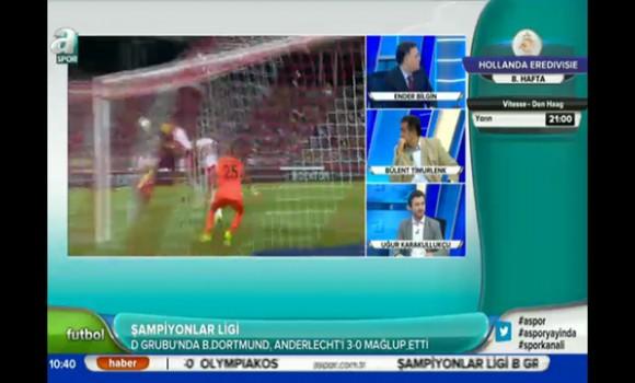 A Spor Ekran Görüntüleri - 1