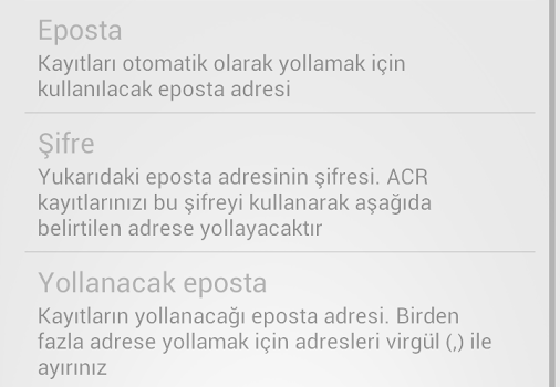 ACR Ekran Görüntüleri - 1