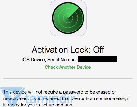Activation Lock Status Tool Ekran Görüntüleri - 1