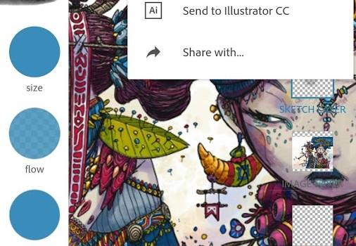 Adobe Photoshop Sketch Ekran Görüntüleri - 4