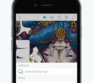 Adobe Photoshop Sketch Ekran Görüntüleri - 1