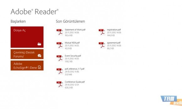 Adobe Reader Touch Ekran Görüntüleri - 5