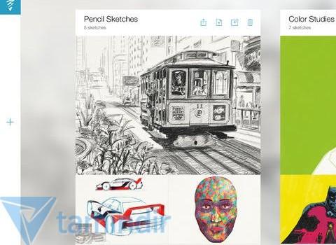 Adobe Sketch Ekran Görüntüleri - 3