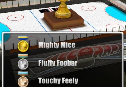 Air Hockey 3D Ekran Görüntüleri - 1
