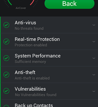 AirCover Security Ekran Görüntüleri - 2