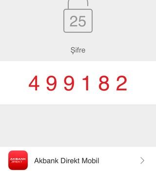Akbank Direkt Şifreci Ekran Görüntüleri - 3