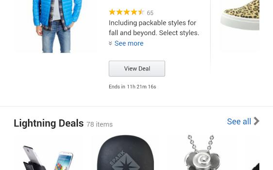 Amazon for Tablets Ekran Görüntüleri - 1