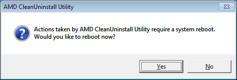 AMD Clean Uninstall Utility Ekran Görüntüleri - 1