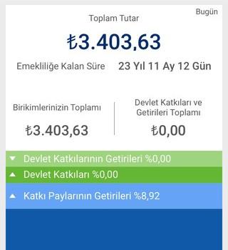 Anadolu Hayat Emeklilik Mobil Şube Ekran Görüntüleri - 5