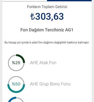 Anadolu Hayat Emeklilik Mobil Şube Ekran Görüntüleri - 2