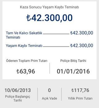 Anadolu Hayat Emeklilik Mobil Şube Ekran Görüntüleri - 1